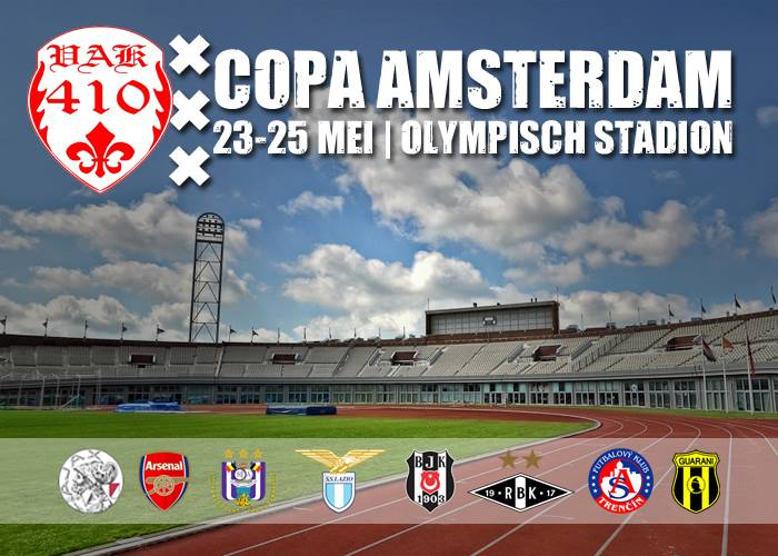 COPA AMSTERDAM, BE THERE !