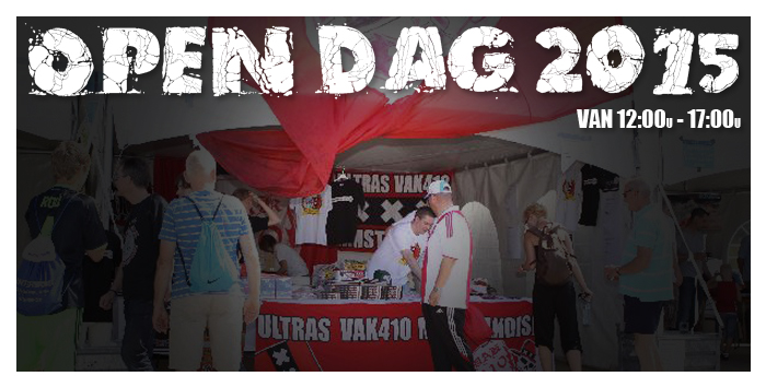 VAK410 STAND OPEN DAG