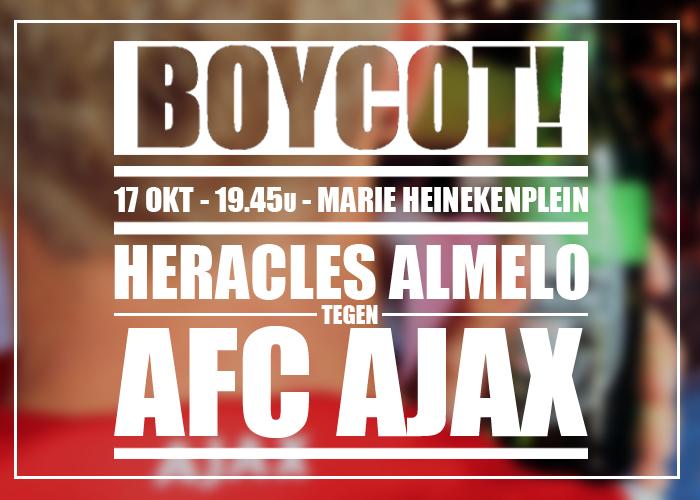 Boycot: Heracles Almelo - AFC Ajax