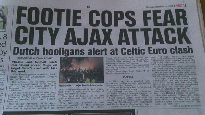 Goedemorgen Glasgow...