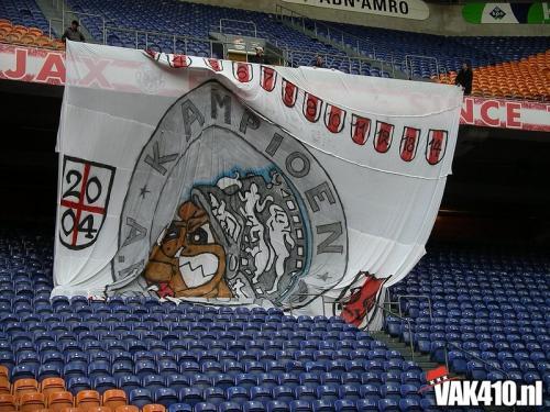 AFC Ajax - RBC (1-1) | 18-04-2004