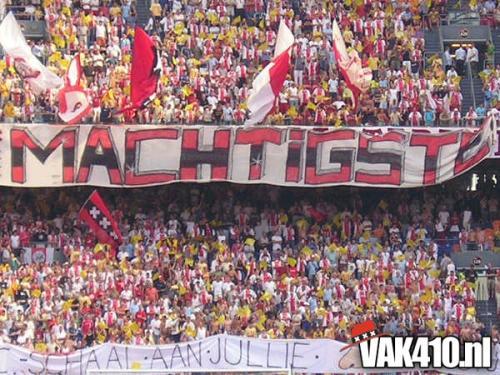AFC Ajax - FC Utrecht (2-4) JCS | 08-08-2004